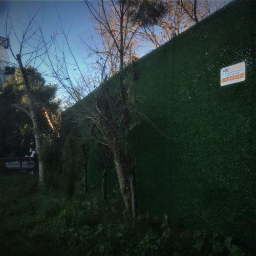 İstanbul-Üsküdar KYOCERA Panel Çit ve Çimenli Çit Uygulaması