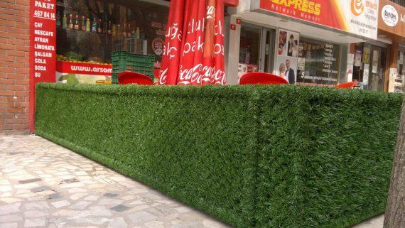 çimenli duvar
